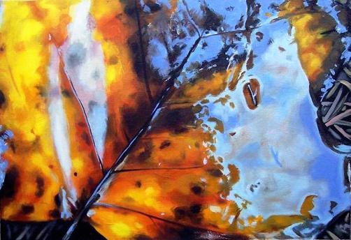 """Autumn, 18"""" x 24"""", oil on canvas"""