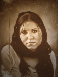 "Limbo, pastel on paper, 31"" x 48"", 2010"