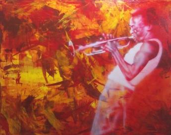 """Davis, 60"""" x 48"""", acrylic on canvas"""