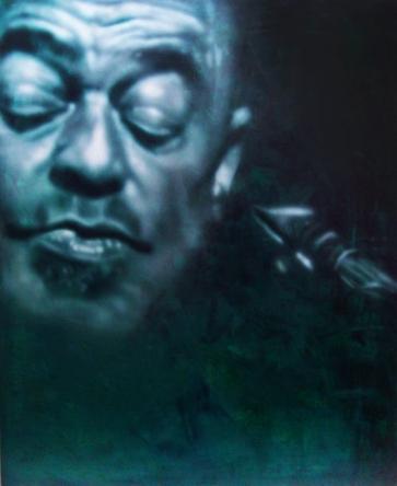 "Shepp, 60"" x 48"", acrylic on canvas"